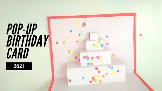 Pop Up Card for Birthday | Birthday Card Ideas