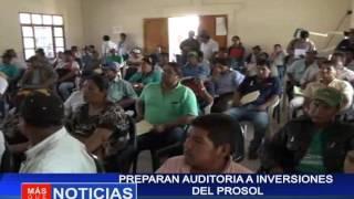 Preparan auditoria a inversiones del PROSOL
