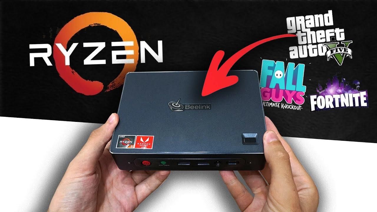 Este MINI PC con AMD RYZEN es una BESTIA