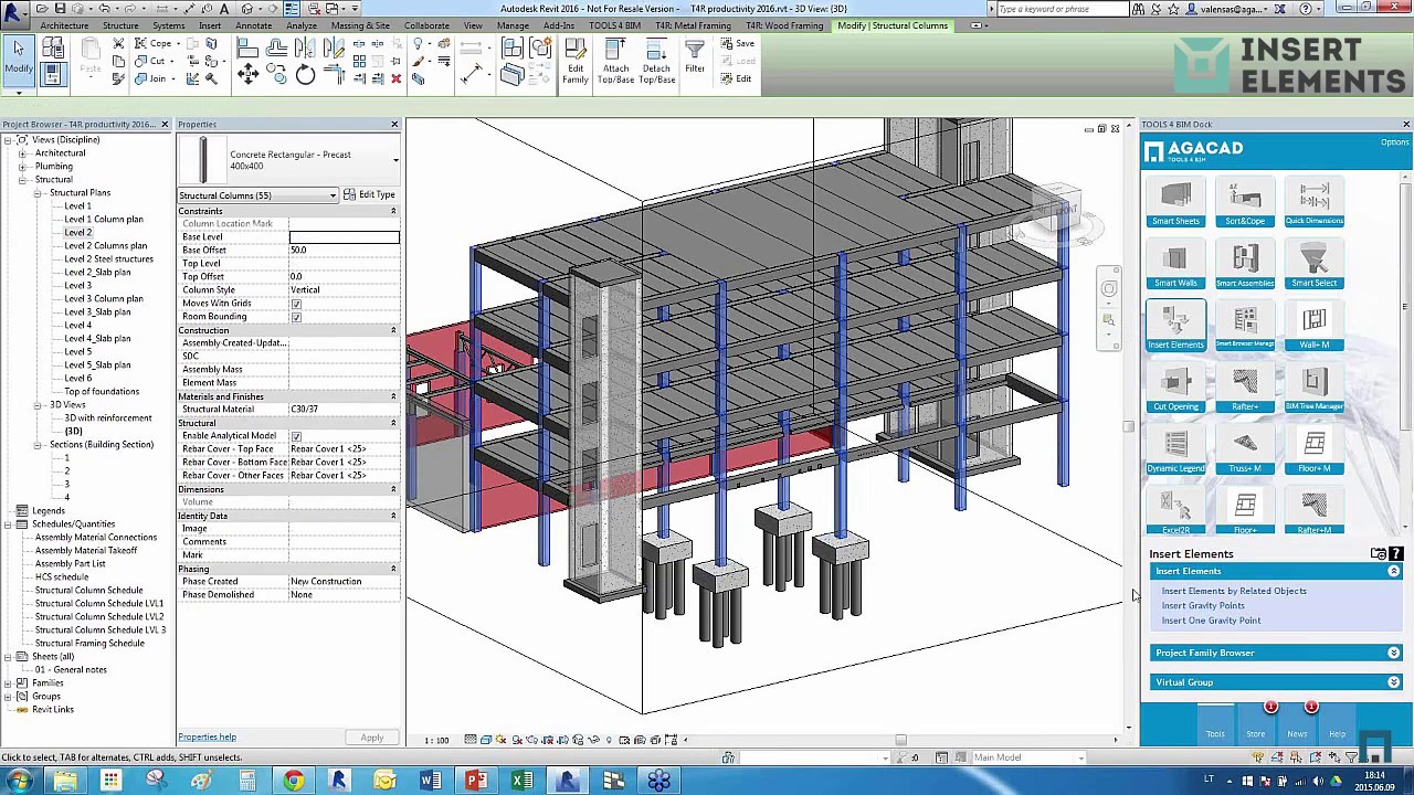 How to Simplify & Speed Up Structural Engineers' Daily Tasks in Revit