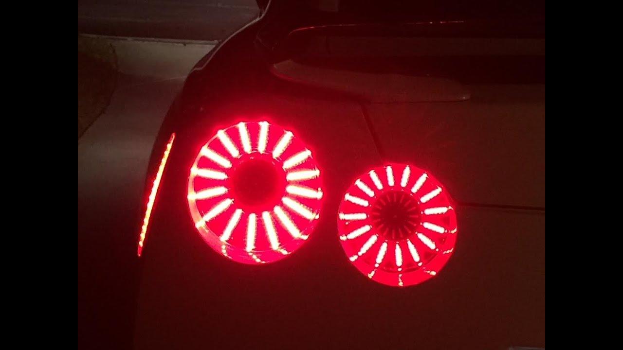 nissan gtr r35 led tail lights switchback reflectors. Black Bedroom Furniture Sets. Home Design Ideas