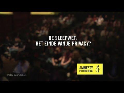 De Sleepwet: het einde van je privacy? - Amnesty International