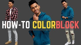 How to Color Block Your Outfit