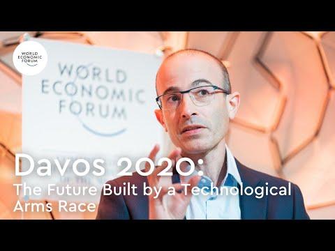 Yuval Noah Harari & Huawei CEO Ren Zhengfei in Conversation - Davos 2020