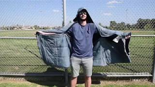 Kubie Half-length Poncho How-to