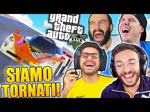 IL RITORNO DELLE GARE SU GTA 5! w/MikeShowSha, GiampyTek & S7ORMy thumbnail