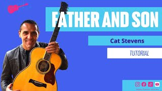 Cat Stevens - Father and Son - Easy Guitar Lesson