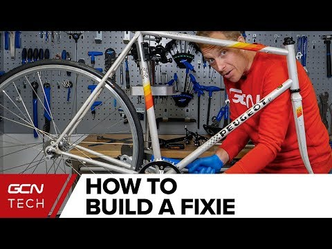 Building The Bike - Real Time Complete Build | Cheap Bike To Fixie Ep. 3