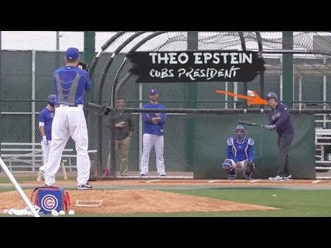 Chicago Cubs Players React To Theo Epstein's Hits | ESPN