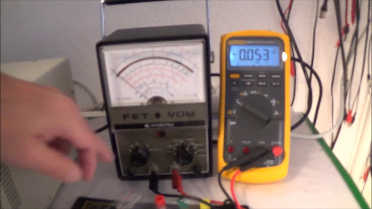 Zener Diode Testing Ammeter And Voltmeter Youtube Tester