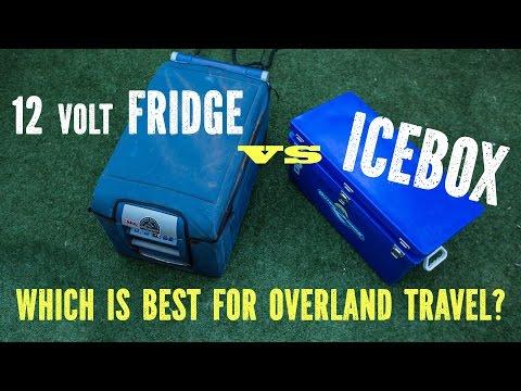 12 volt Fridge vs Icebox
