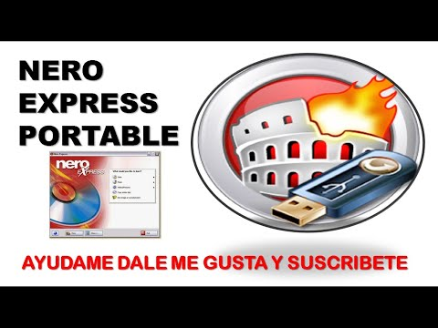 NERO PORTABLE NERO EXPRESS QUEMADOR USB CD
