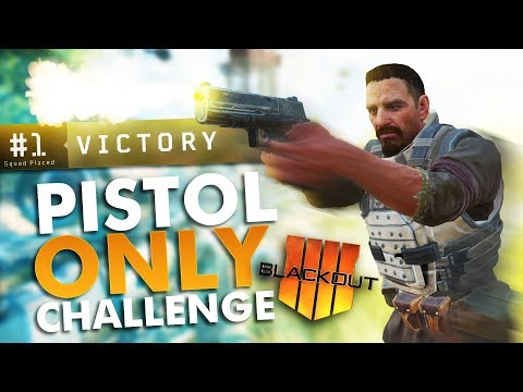 *WORLDS FIRST* Pistol ONLY BLACKOUT Victory!