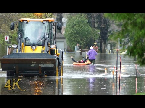 Montreal: Historical flooding paralyses parts of the city 5-5-2017