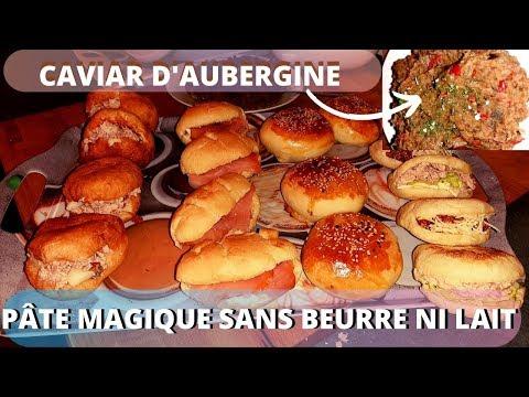 👌[recette]-pÂte-magique-(pâte-a-tous-faire)-caviar-d'aubergine(zaalouk-)