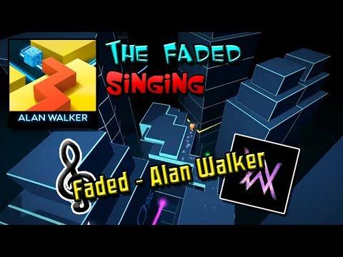 Dancing Line Singing - Faded (The Faded - Alan Walker)
