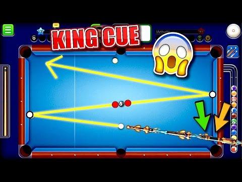 KING CUE! - Insane Trick Shots - (Indirect Highlights) - Miniclip 8 Ball Pool