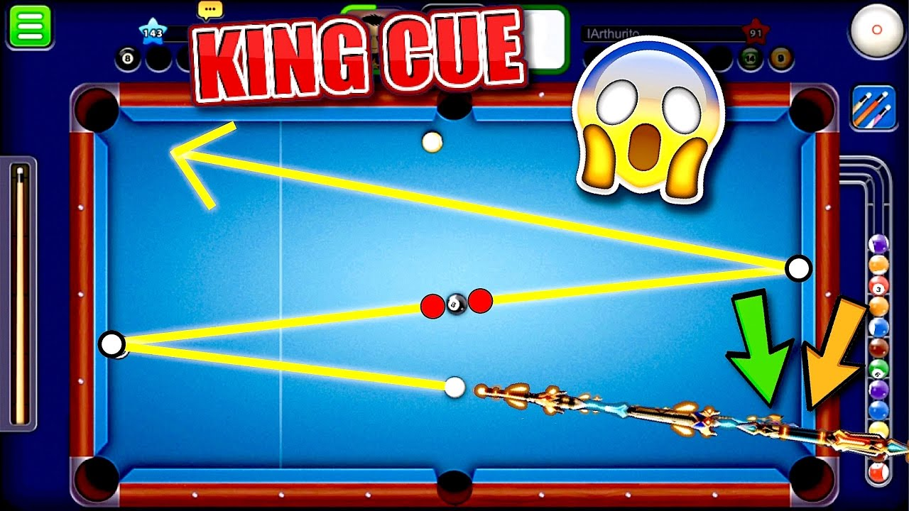 KING CUE! - Insane Trick Shots - (Indirect Highlights ...