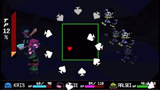 Deltarune - Jevil Boss Fight Pacifist (Secret Boss)