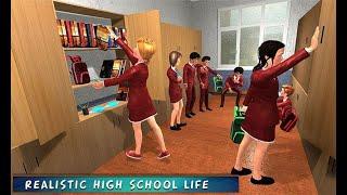 ADA PREMAN DI SEKOLAH SMA  VIRTUAL HIGH SCHOOL -GAME SEKOLAH 3D ANDROID screenshot 3
