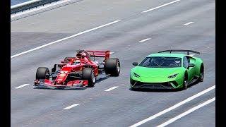 Lamborghini velocidad prueba de
