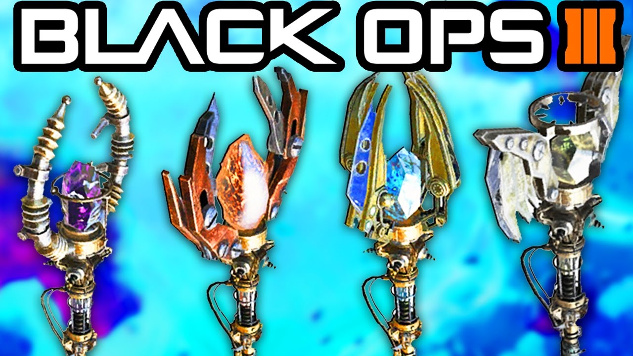 Bo origins all staffs  upgrades guide ice fire wind lightning zombies chronicles also rh youtube