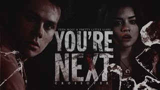 ✗you're next [dark!crossover || pll&tw] happy halloween