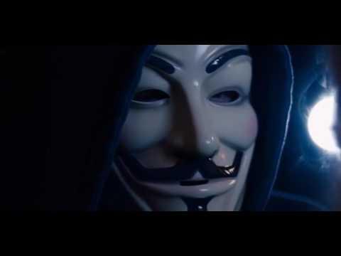 Sense8 Nomi anonymous scene. V for Vendetta reference