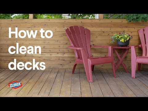Clorox How To Clean An Outdoor Deck With Bleach You