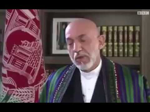 Hamid Karzai saying taliban have the right to seize areas in afghanistan.