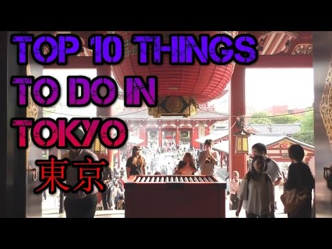 Top things to do in Tokyo Vlog