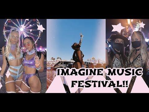 IMAGINE MUSIC FESTIVAL VLOG!!