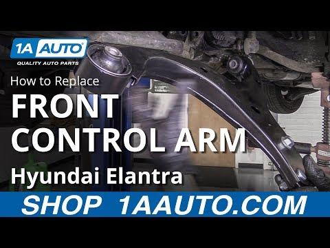 How to Replace Lower Control Arm 07-10 Hyundai Elantra