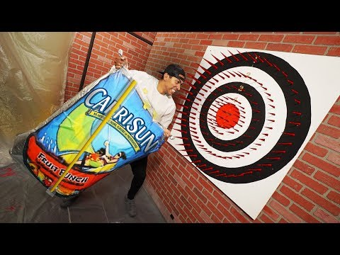 Deadly Dart Board Challenge (ft. Team Edge)