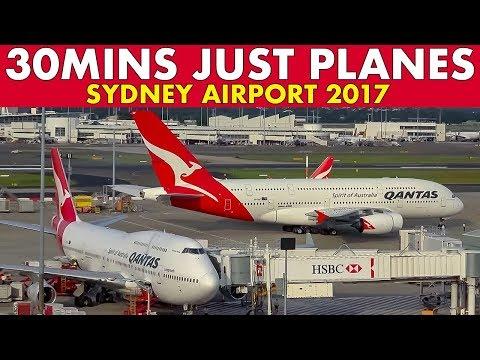 30 MINS PLANE SPOTTING Sydney