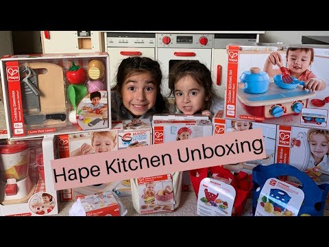 Kitchen Unboxing // Hape Toys // LifewithDrea
