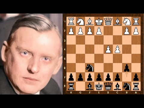 The Only World Chess Championship Game To End In Checkmate! || Bogoljubov Vs Alekhine || 1929 Rd 8