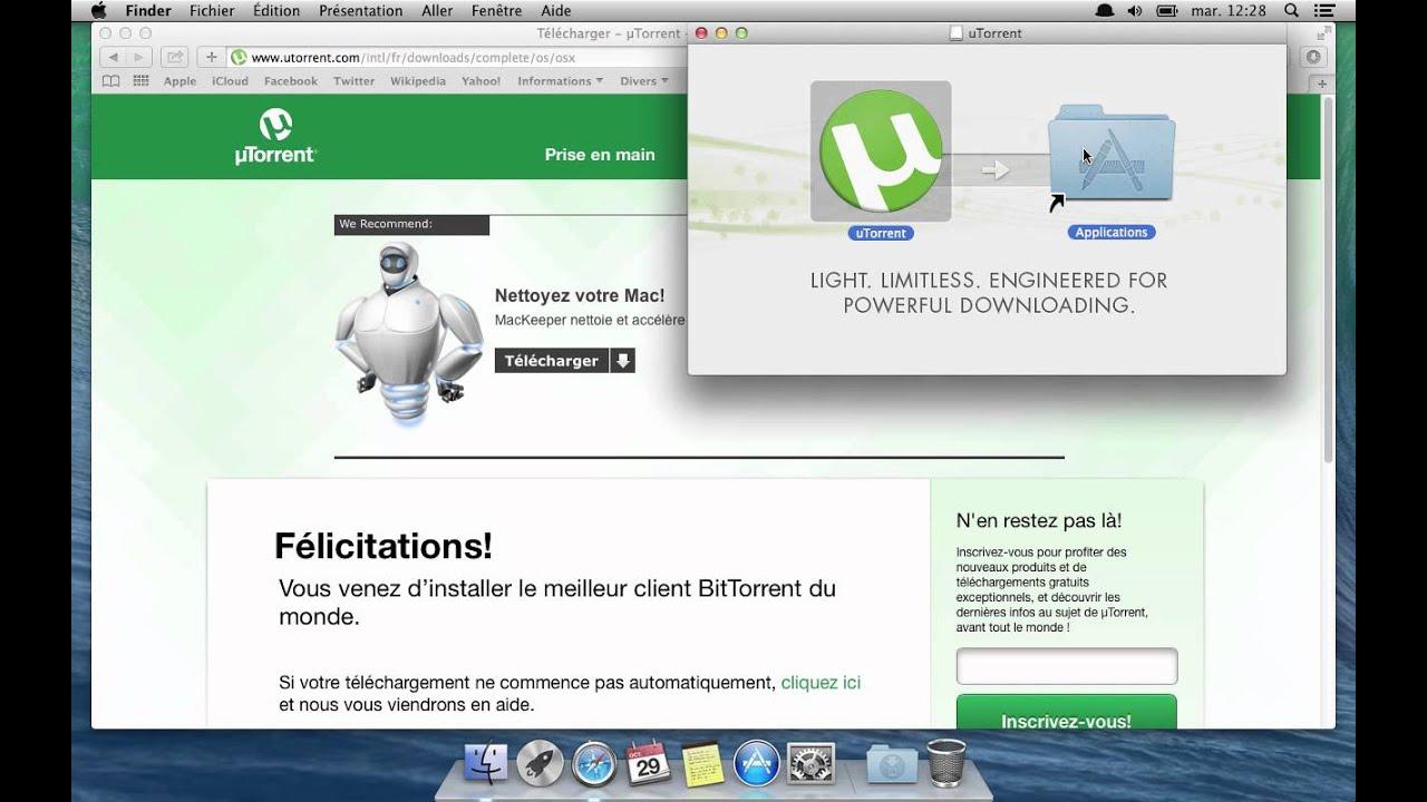 Comment installer uTorrent - Mac - YouTube