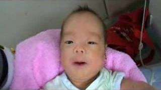 2007年12月9日に生まれて1ヶ月とちょっと経ちました~