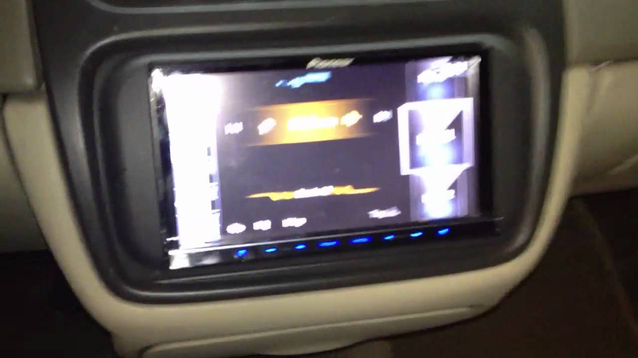 Cadillac Deville 2003 With Pioneer Avic Z130bt Youtube