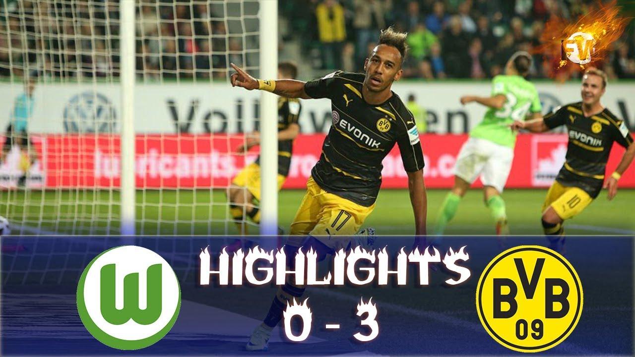 Download Wolfsburg vs Borussia Dortmund 0 3 All Goals & Highlights