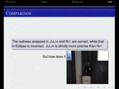 Nullness Analysis for Java
