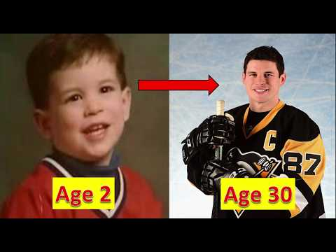 Sidney Crosby - Transformation From 1 To 30 Years Old
