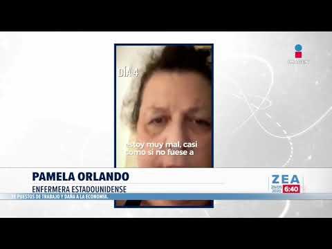 Enfermera graba su lucha contra el coronavirus | Noticias con Francisco Zea