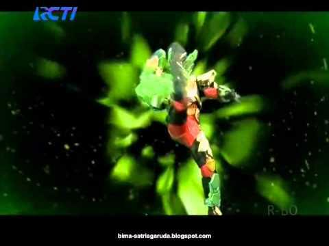 "Bima X Earth Mode Finisher Attack ""Garuda Ground Breaker"""