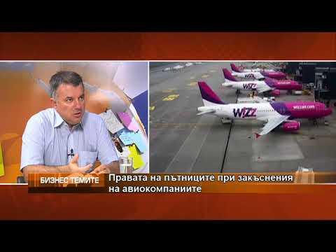 Правата на пътниците при закъснение на авиокомпаниите