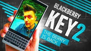 BlackBerry KEY2 Hands On: Is This My Next Phone?