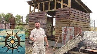 Дом в Деревне. Начал обшивать забор и снова рукожоплю в Курятнике.