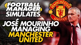 Football Manager Simulates: José Mourinho At Manchester United