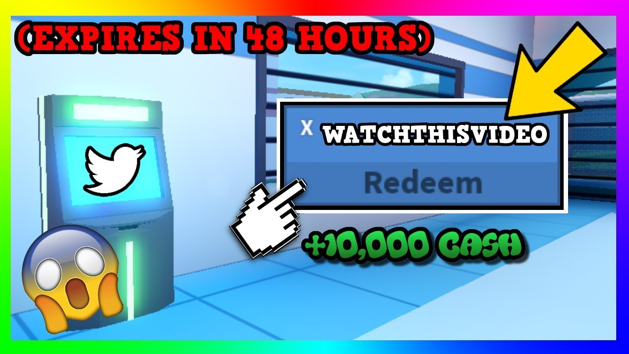 New August Atm Cash Codes Jailbreak 2019 Roblox Youtube